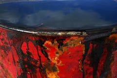 rouge abstrait de noir de fond Photographie stock