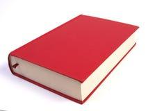 rouge blanc de livre Image stock