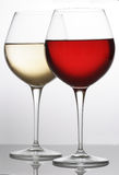 Rouge-blanc-entier Photo libre de droits