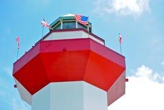 Rouge, blanc et bleu Photos libres de droits