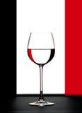 Rouge, blanc et noir Photos stock