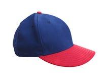 rouge bleu de chapeau Photos libres de droits