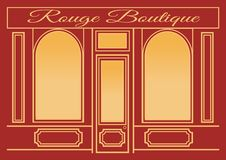Rouge Boutique stock image