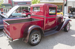 1933 rouge Chevy Pickup Truck Image libre de droits