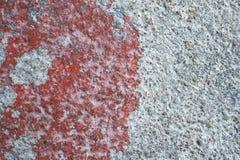 Rouge concret de plancher Image libre de droits