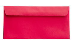 Rouge d'enveloppe Photos stock