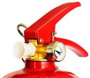 rouge d'incendie d'extincteur Photos stock