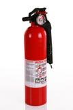 rouge d'incendie d'extincteur photo stock