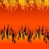rouge d'incendie de fond Images stock