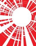 Rouge d'objectif de caméra de fond illustration stock