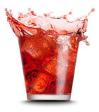 rouge de boisson Photographie stock libre de droits