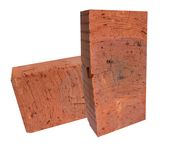 rouge de briques Photographie stock