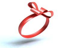 Rouge de cadeau Images stock