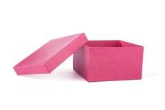rouge de cadeau de cadre Photo stock