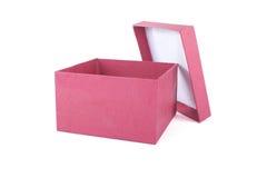 rouge de cadeau de cadre Photographie stock