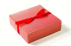 rouge de cadeau de cadre Images stock