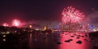 Rouge de carter de Sy Firewrk 2013 Photo stock
