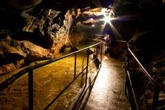 rouge de caverne Image libre de droits