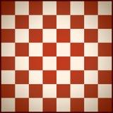 Rouge de champ d'échecs illustration de vecteur