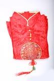 rouge de cheongsam Photo stock