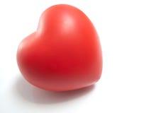 rouge de coeur Photo libre de droits