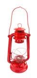 Rouge de cru de kérosène de lanterne Image libre de droits