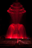 Rouge de fontaine de parc de Bayliss Image libre de droits
