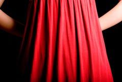 rouge de geste Photos libres de droits