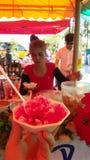 Rouge de glace de la Thaïlande de désert gratuit Photos libres de droits