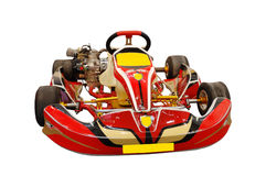 rouge de kart images stock