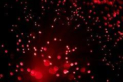 rouge de lampe de noyau Photo libre de droits