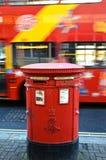 ROUGE de Londres image stock