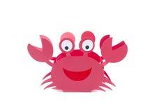 Rouge de métier de crabe Photographie stock