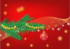 Rouge de Noël Photos stock