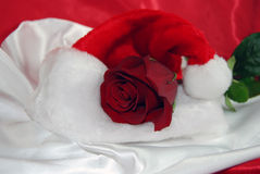 Rouge de Noël Photographie stock