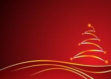 rouge de Noël de fond Photo libre de droits