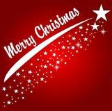rouge de Noël de fond joyeux illustration libre de droits