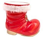 rouge de Noël de gaine Photos libres de droits