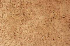 Rouge de plâtre d'Exture, vieux papier peint gris en pierre concret sans couture brun de fond Images libres de droits