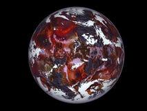 rouge de planète Photographie stock libre de droits
