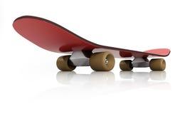 Rouge de planche à roulettes Photo libre de droits