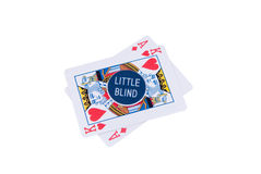 Rouge de Pokerchips Image stock