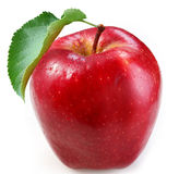 rouge de pomme Photographie stock
