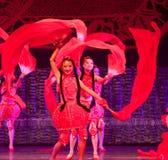 Rouge de porcelaine de danse Image stock