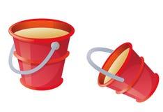 rouge de position illustration stock