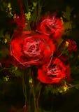 rouge de roses - image courante Photo libre de droits