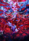 rouge de roses - image courante Photos stock