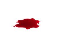 rouge de sang Image libre de droits