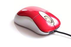 rouge de souris d'ordinateur Images stock