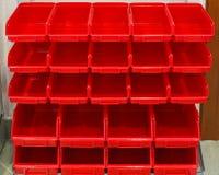 Rouge de support de pièces image libre de droits
